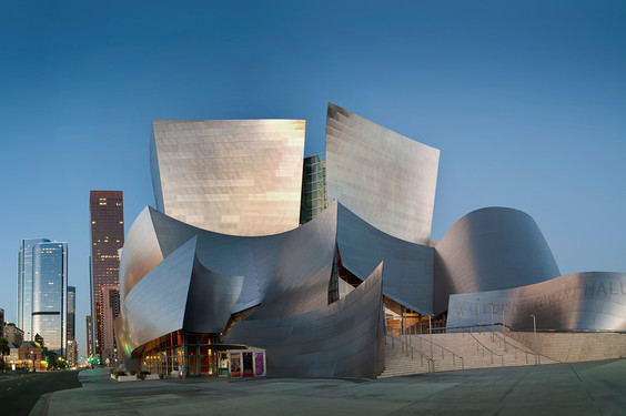 Walt Disney Concert Hall Plan