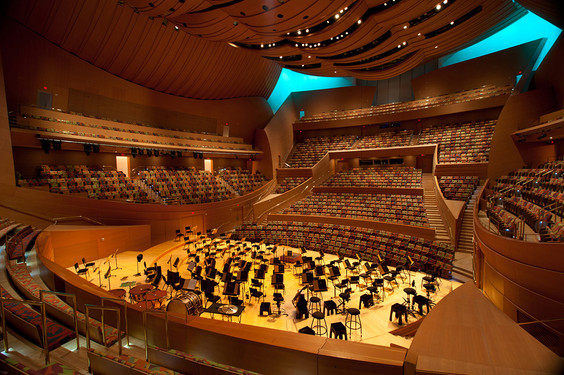 seatingWalt Disney Concert Hall Interior